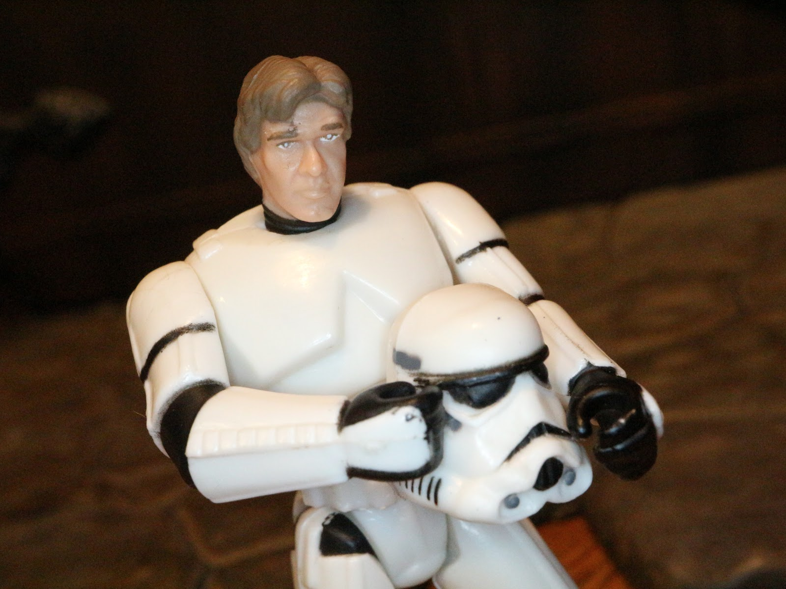 Star Wars Han Solo Stormtrooper Disguise Kellogg/'s Mail Away 1995 Kenner