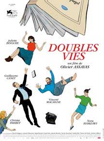 "poster ""NON-FICTION"" (DOUBLES VIES)"
