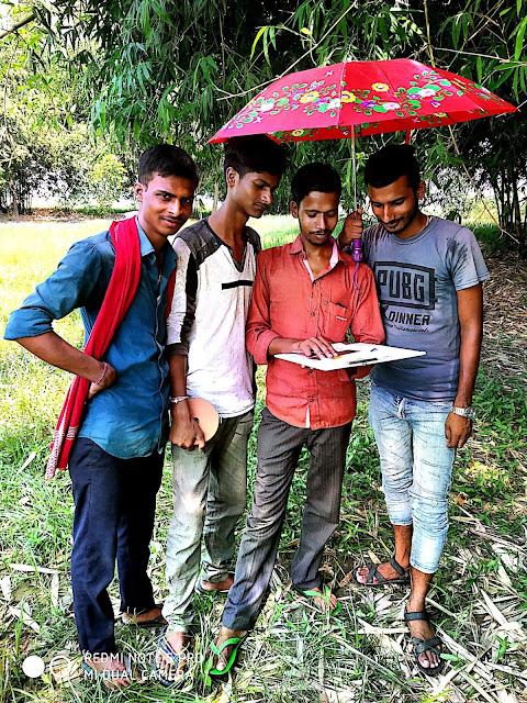 Training Period of Land Survey