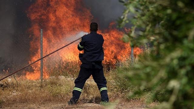 Αργολίδα: Πολύ υψηλός ο κίνδυνος πυρκαγιάς σήμερα Σάββατο 14/8