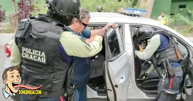 Detenido en Chacao por haberle disparado a un hombre solo porque no llevaba tapabocas