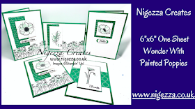 Nigezza Creates with Stampin' Up! & Painted Poppies