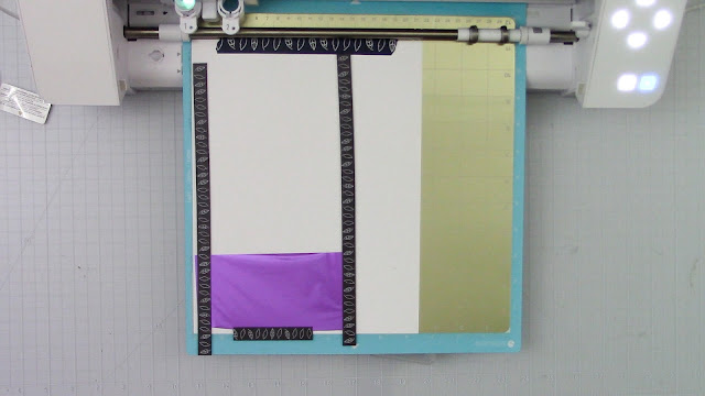 magnetic mat, multiple foil colors, cameo 4, card making, foil quill project