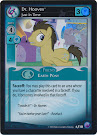 My Little Pony Dr. Hooves, Just In Time Canterlot Nights CCG Card