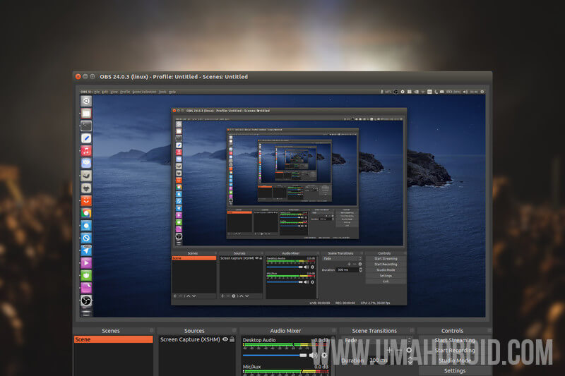 Cara Install Obs Studio Di Linux Mint Dan Ubuntu Dengan Elegan Umahdroid