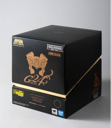 Saga de Géminis Metal EX Gold 24K
