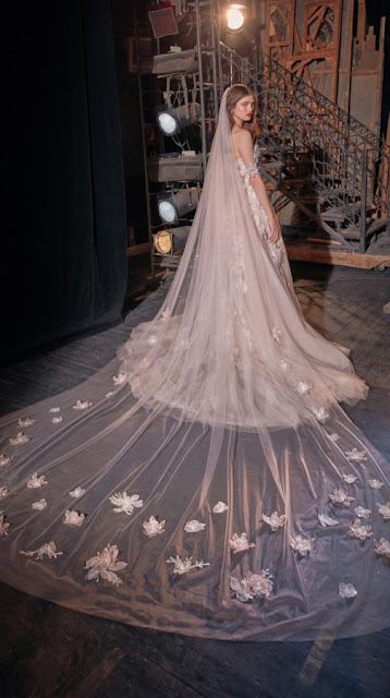 K'Mich Weddings - wedding planning - white wedding dresses - kaila with train - galia lahav-fall-2019