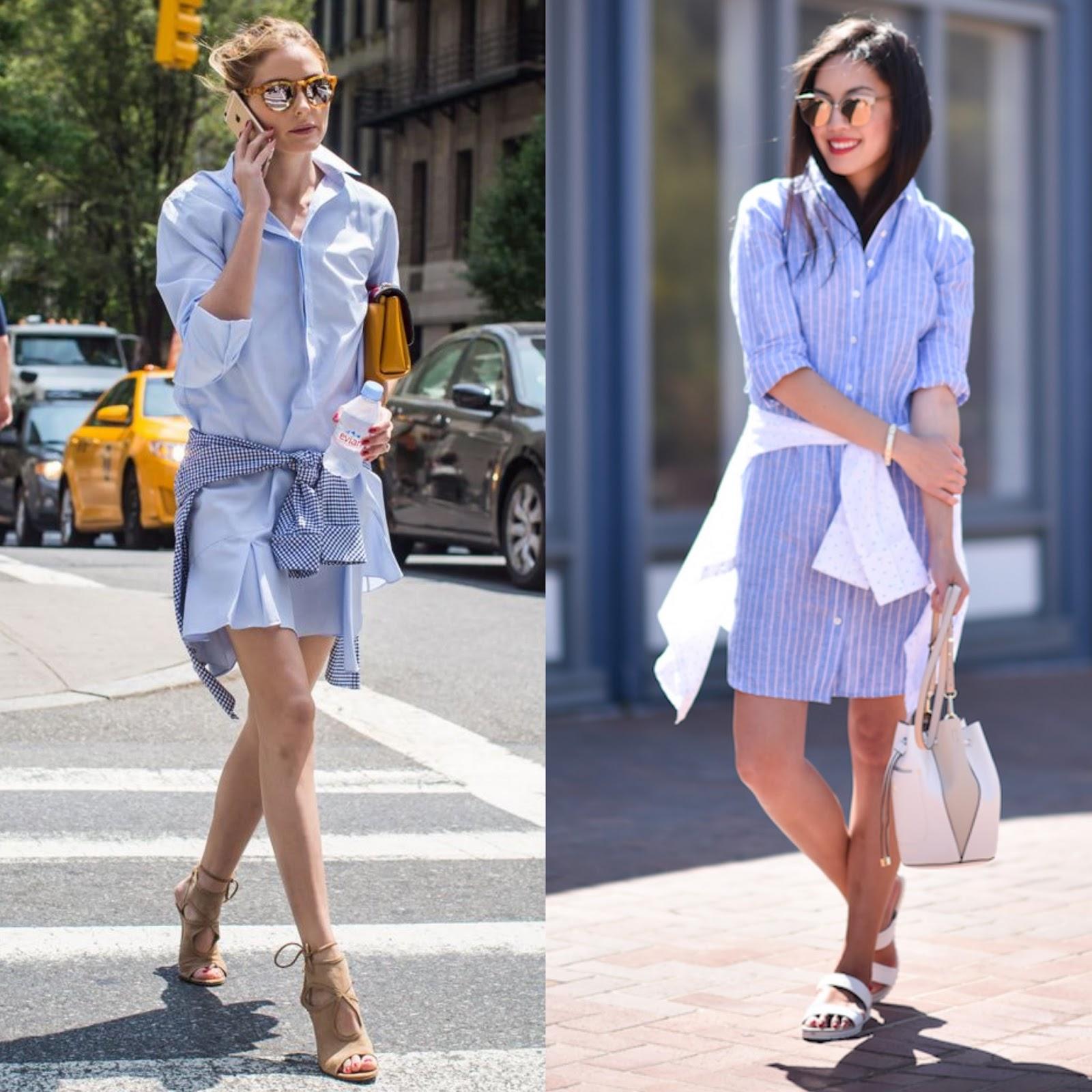 b6c27e8f20 Vestido camisero rayas azul y blanco – Vestidos baratos
