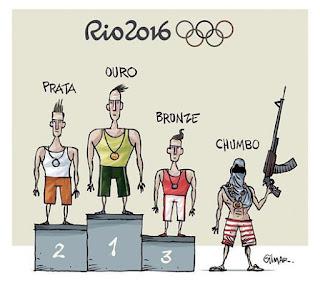 IMBECILIDADE: cerimônia de abertura das Olimpíadas exibirá roubo e perseguição policial