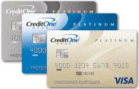 credit one bank platinum visa®
