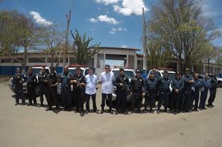 Operação Pé na Estrada realiza manutenção de armas, apoio técnico e assistência médica em todos os Batalhões