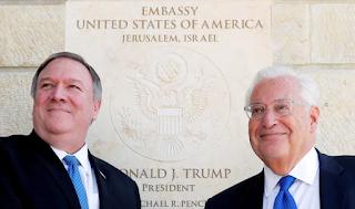 السفير الأمريكي: إن لإسرائيل الحق في ضم أراضي الضفة الغربية