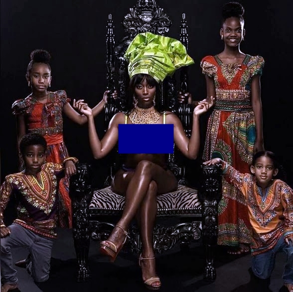 , TV Reality Star Tiarra Becca posted Naked Photos She Took With Kids, Latest Nigeria News, Daily Devotionals & Celebrity Gossips - Chidispalace