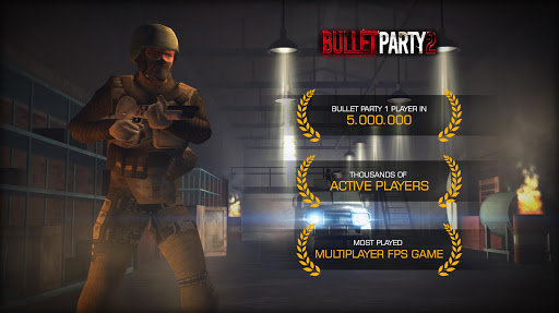 Bullet Party CS 2 GO STRIKE Mod Apk
