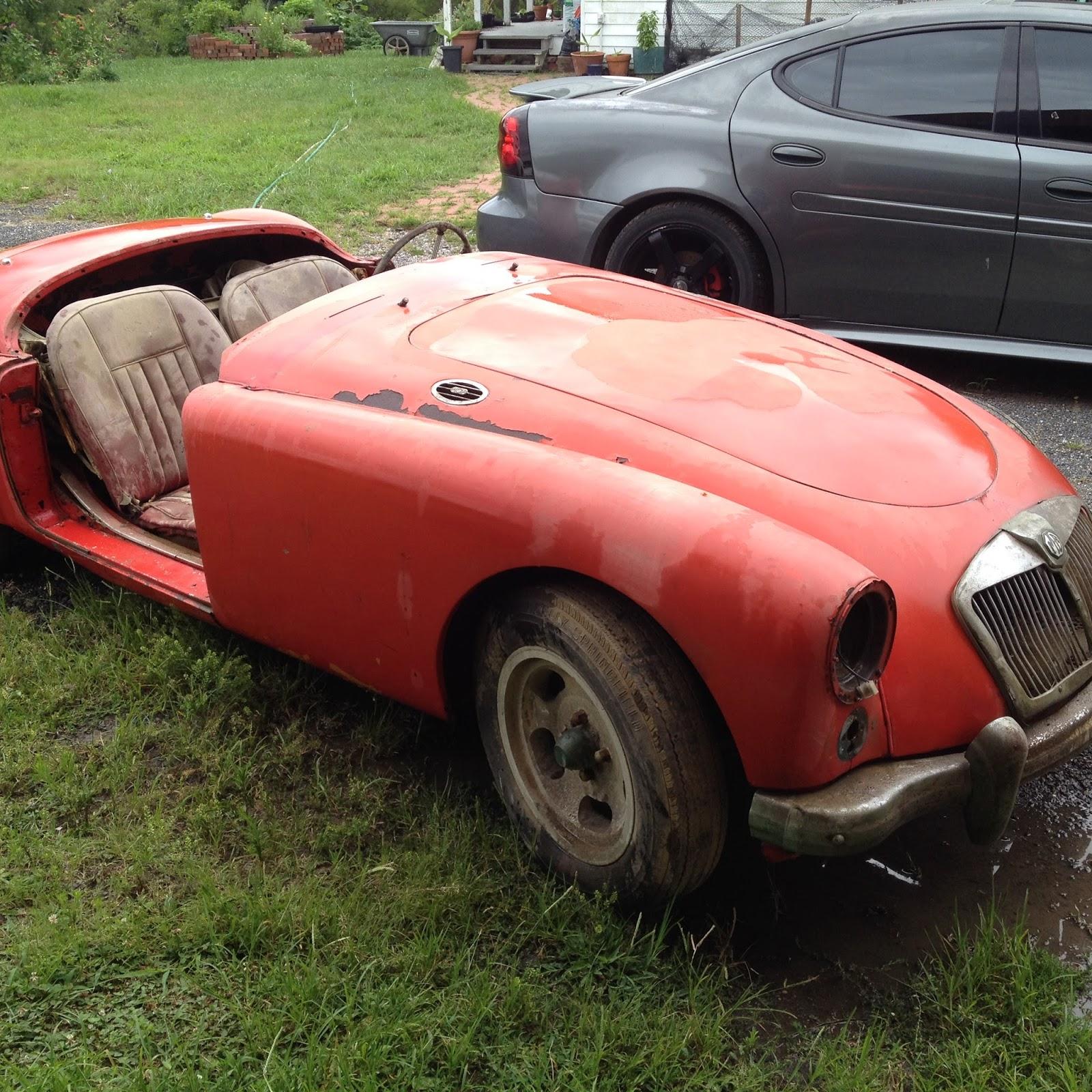 1961 MGA Restoration