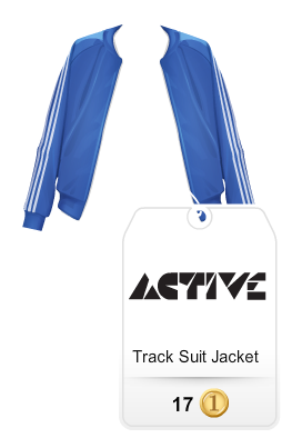 stardoll active blue jacket