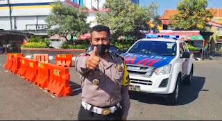 Situasi Terkini Arus Lalu Lintas di Simpang Lima Kota Semarang