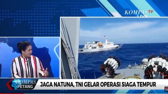 Pengamat Militer Sarankan Pemerintah Cara Lawan China di Perairan Natuna, Sindir Prabowo?