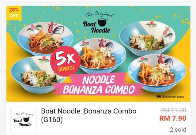 Noodle bonanza combo