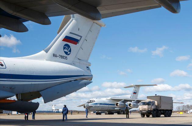 Η ρωσική βοήθεια προς την Ιταλία εκθέτει την ΕΕ