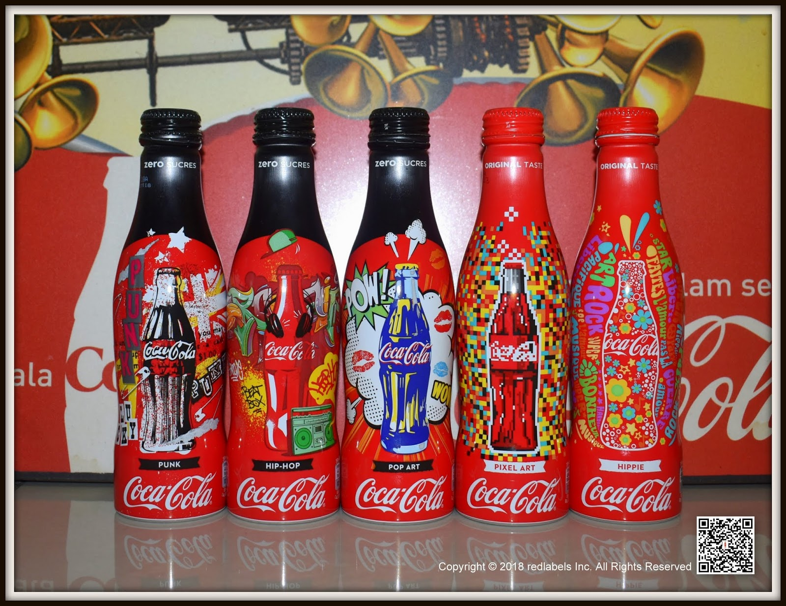 Aluminum Bottle Collector Club Coca Cola Quick Restaurant 5