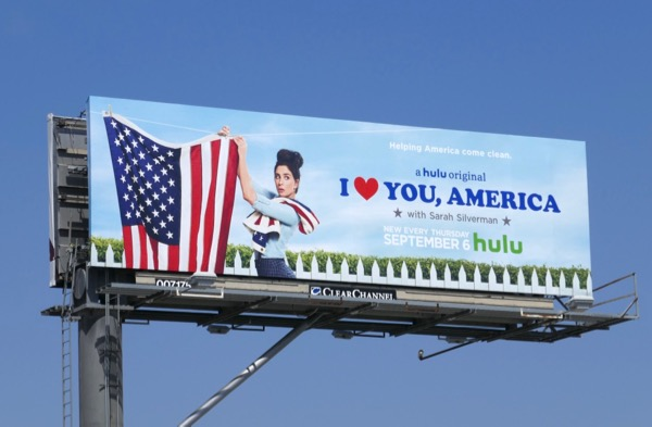 I Love You America season 2 Hulu billboard