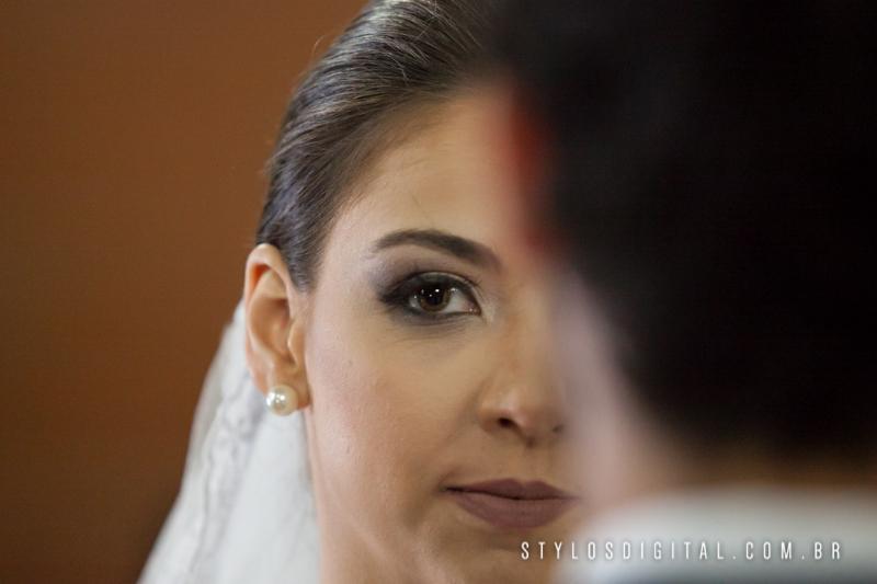 olhar noiva