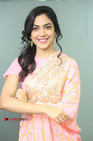 Actress Ritu Varma Pos in Beautiful Pink Anarkali Dress at at Keshava Movie Interview .COM 0087.JPG