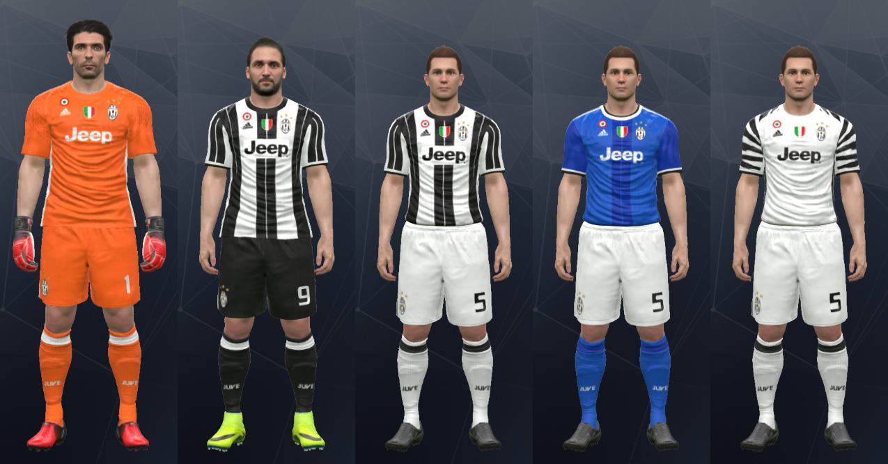 ee02112571173 Wepes Sport  Uniforme Juventus - Pes 2017 (PC PS3)