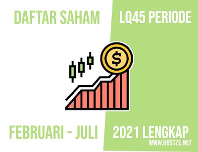 √ Ini Dia! Daftar Saham - Saham LQ45 periode Februari - Juli 2021 Lengkap - hostze.net