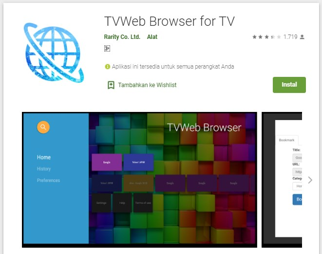 browser for android tv