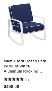 Lowes Rocking Chairs White 1