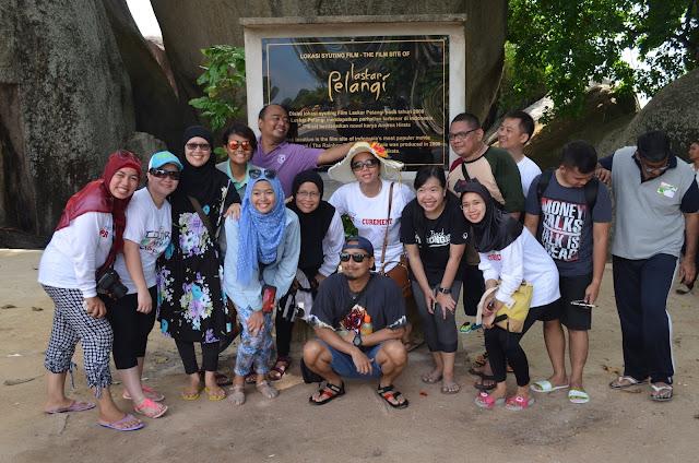 Technip Indonesia Wisata ke Belitung