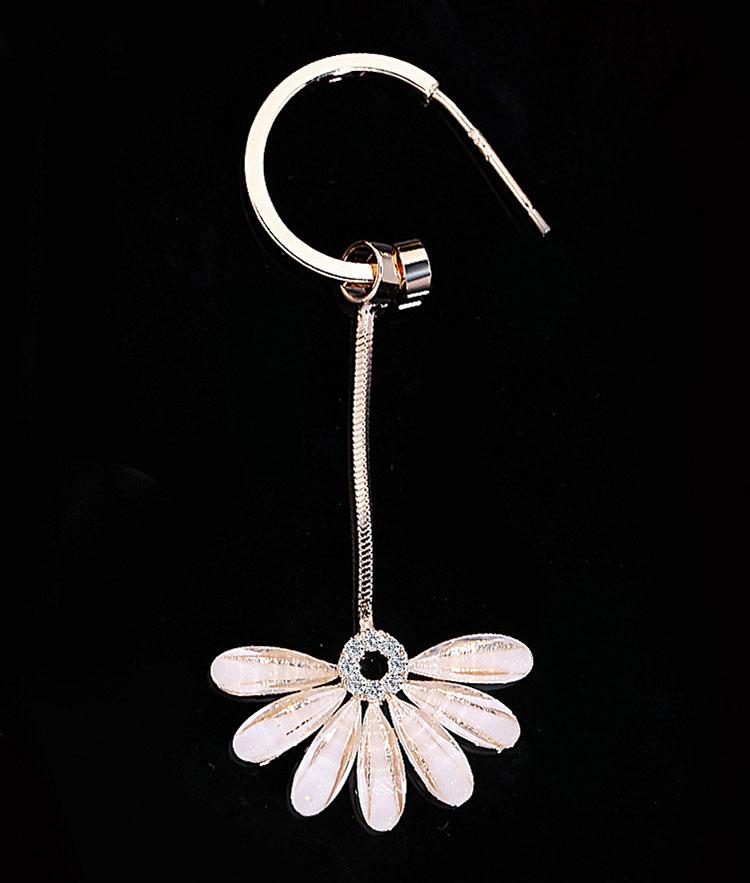 絕美花瓣流蘇耳環