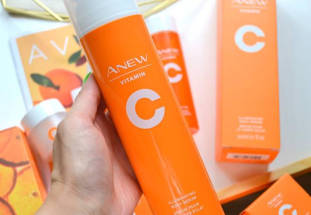Avon Anew Vitamin C Collection Illuminating Body Serum