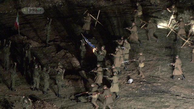 """Ιωάννινα: """"Ξύπνησαν"""" Μνήμες Του '40 ... Στην Αναπαράσταση Της Μάχης Καλπακίου (Βίντεο)."""