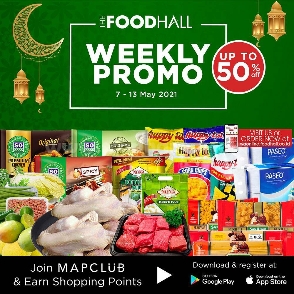 Katalog Promo Foodhall Weekly Special 7 - 13 Mei 2021
