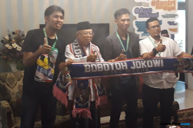 Tak Semua Dukung Jokowi-Ma'ruf, Pendukung Persib: Jangan Bawa Bobotoh
