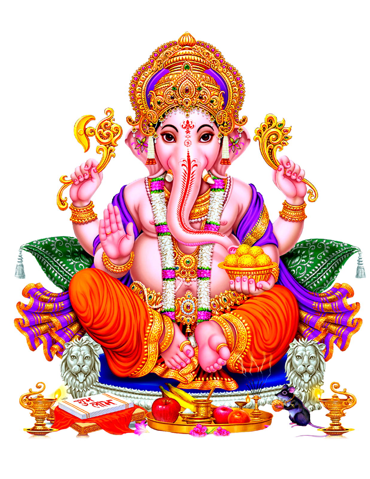 Lord Vinayaka Png Images Free Download Hd Lord Ganesh Images For Banner Designs Png Pot Vector Images Floral Designs God Images Hd 4k Png Religious Images Festival Vectors For Free