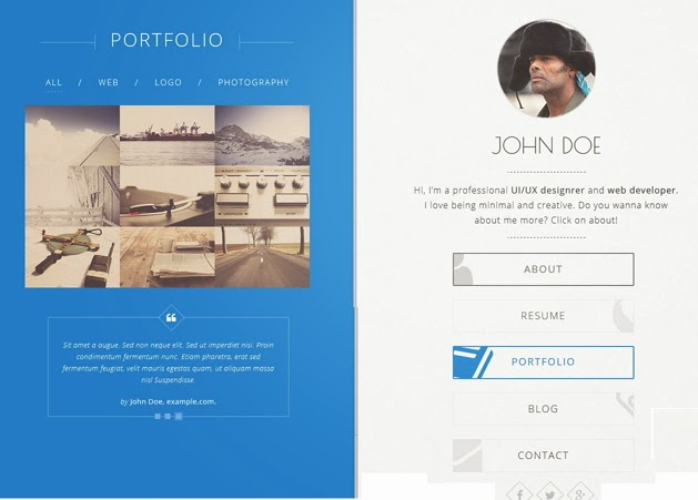 Best vcard Template design