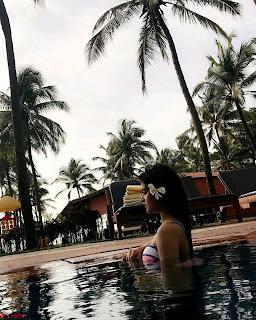 Nidhhi Agerwal Munna Michael Actress Bikini Vacation ~ Exclusive 003