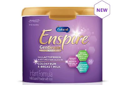 Sữa Bột Enfamil Enspire Gentlease Infant Formula 566g - Mỹ