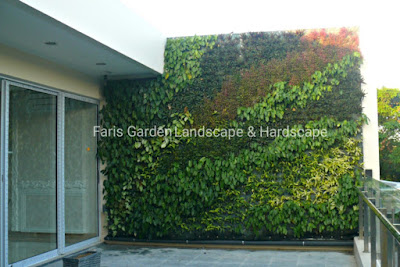 Jasa Vertical Garden di Malang | Desain Pembuatan Taman Vertical Malang