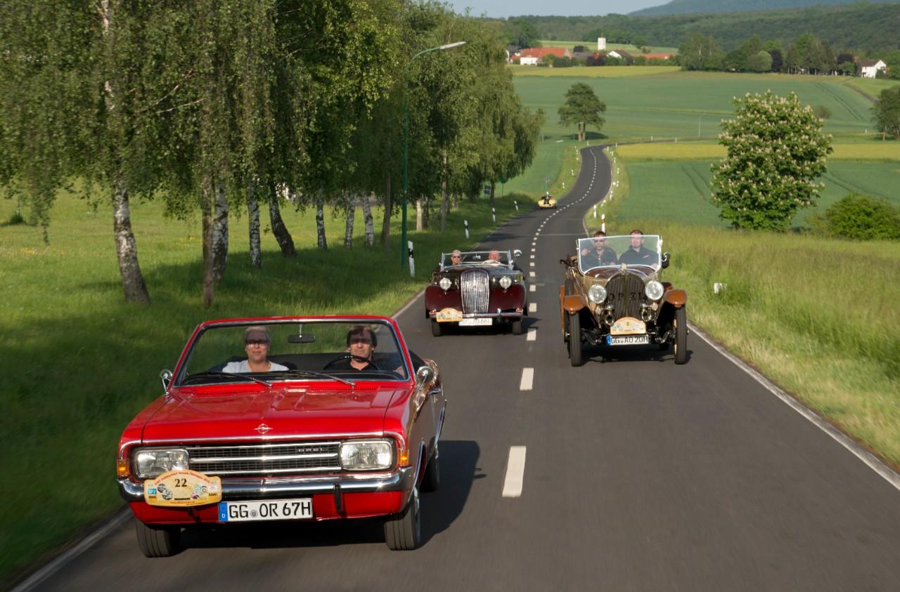 Rallye Hessen-Thüringen: Έλαμψε η κληρονομιά της Opel στα Cabrio