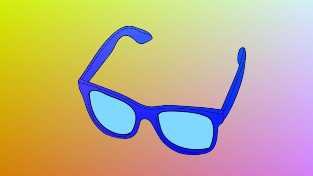 Model kaca mata untuk wajah bulat