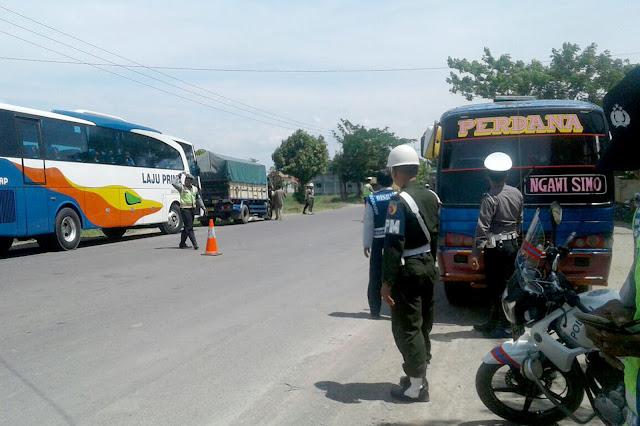 Personil TNI - Polri dan Dishub Gencar Turun ke Jalan Mencari Pelanggar Lalu lintas