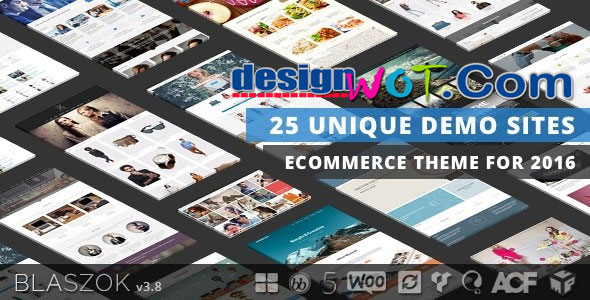 Blaszok eCommerce WordPress Premium Theme