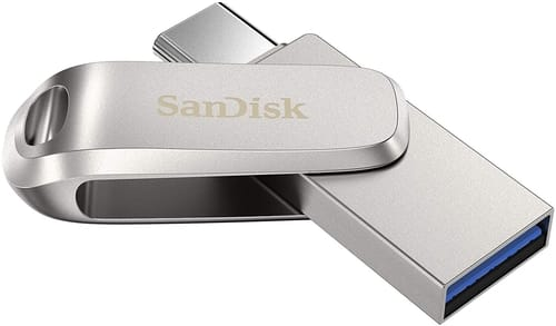 Review SanDisk 128GB Ultra Dual Drive Luxe USB Type-C