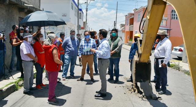 Inicia SOSAPACH rehabilitación de drenaje en barrios de San Pedro Cholula