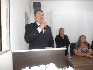 Prefeito reeleito de Sobrado,PB, toma posse afirmando que vai trabalhar muito mais